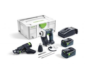 DWC 18V Cordless Collated Screwgun 5.2Ah Set in Systainer