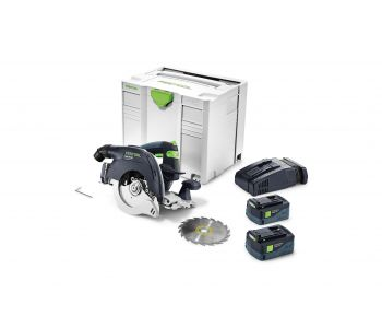 HKC 55 18V 160mm Cordless Circular Saw 5.2Ah Set in Systainer