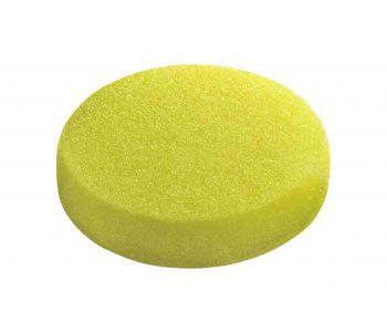 Coarse Polishing Sponge 80mm Yellow - 5 Pack