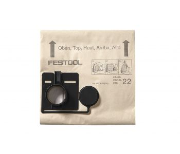 Replacement Filter Bags for CT 55 - 5 Pack
