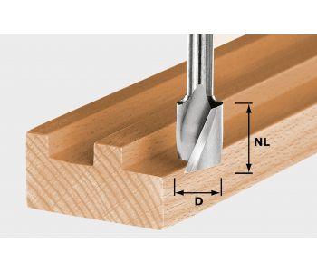 Spiral Groove Cutter HW S8 D10/NL30