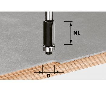 Edge Trimming Cutter HW S8 D12.7/NL25