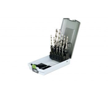 3-10mm HSS Drill Bit & CENTROTEC Holder Set