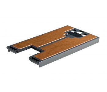 Hard fibre base plate for CARVEX