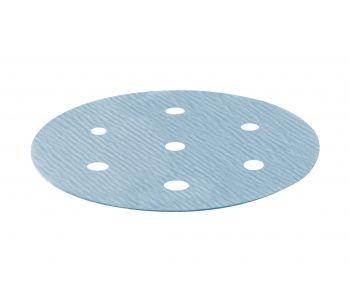 Granat Abrasive Disc 77mm 6 Hole P240 - 50 Pack
