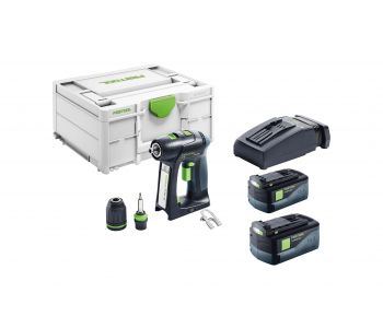C 18V Cordless 2 Speed Drill 5.2Ah Set in Systainer