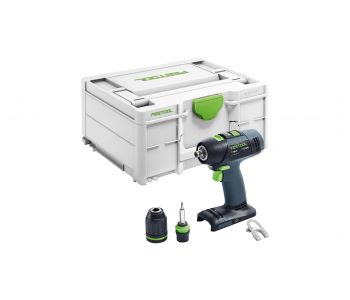 T 18V Cordless 2 Speed Drill Basic in Systainer