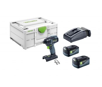 TID 18V Cordless Impact Driver 5.2Ah Set in Systainer