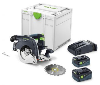 HKC 55 18V 160mm Cordless Circular Saw 5.2Ah Bluetooth Set in Systainer