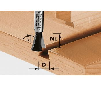Dovetail Cutter HW S8