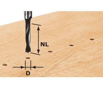 Dowel Drill HW S8 D5/NL30 Z