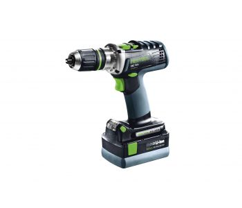 DRC 18V Cordless 4 Speed Drill 5.2Ah Set in Systainer