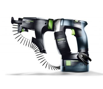 DWC 18V Cordless Colated Screwgun 5.2Ah Set in Systainer