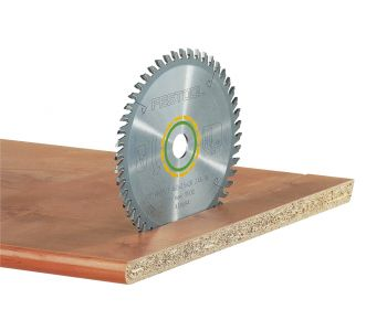Fine Tooth Saw Blade for veneered and laminated board, solid wood, MDF - fine cut