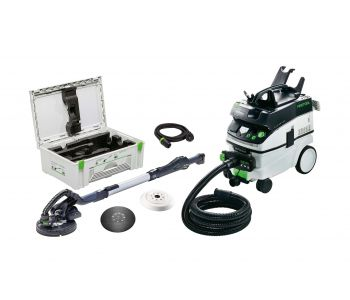 LHS 225 PLANEX 225mm Drywall Sander in Systainer with L Class Dust Extractor Set