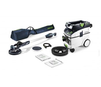 LHS 225 PLANEX Easy 225mm Drywall Sander with L Class Dust Extractor Set