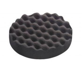 Extra Fine Polishing Sponge 150mm Black Honeycombed - 5 Pack