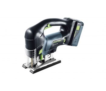 PSBC 420 CARVEX 18V Cordless D Handle Jigsaw 5.2Ah Set in Systainer