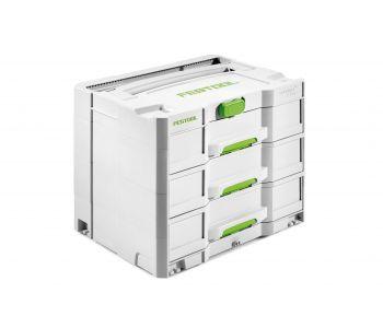 Sortainer T-Loc 3 Drawer Storage Box