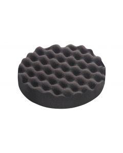Extra Fine Polishing Sponge 80mm Black Honeycombed - 5 Pack