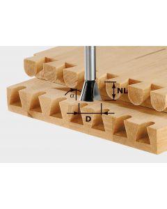 Dovetail Cutter HW S8 D20/NL26/A10
