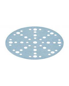 Granat Abrasive Disc D150mm 48 hole P120 - 100 Pack
