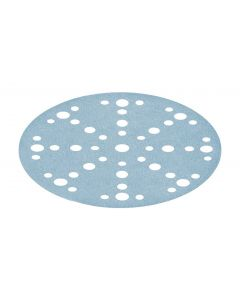 Granat Abrasive Disc D150mm 48 hole P500 - 100 Pack