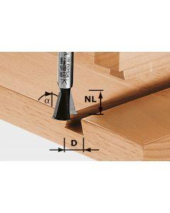 Dovetail Cutter HW S8 D13.8/NL13.5/A15