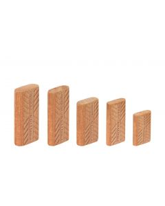 Hardwood Tenons 8mm x 40mm for DF 500 - 390 Pack