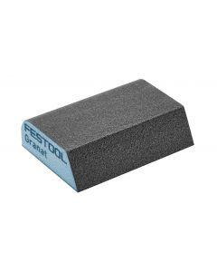 Granat Abrasive Sponge 69mm x 98mm x 26mm P120 Concave Profiles - 6 Pack