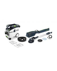 LHS E 225 PLANEX Easy 225mm Drywall Sander M Class Dust Extractor Set