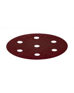 Rubin Abrasive Disc 90mm 6 Hole P80 - 50 Pack