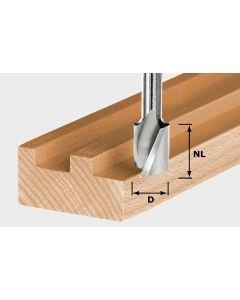 Spiral Groove Cutter HS S8 D10/NL30