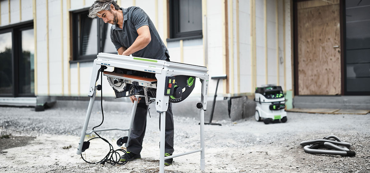 Coming Soon Festool TKS 80 Table Saw with SawStop technology