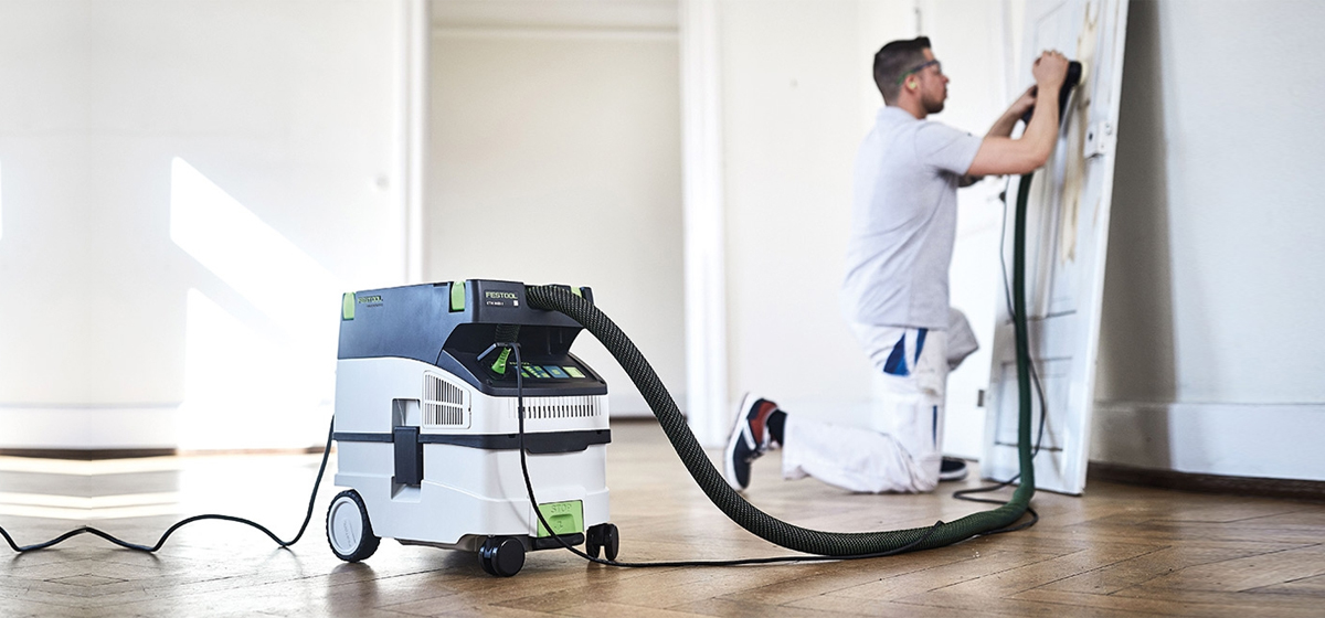 perfect duo sanders and dust-extractors
