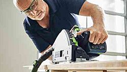 Work virtually dust-free anywhere